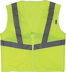 LIFT Safety Viz-Pro 5 点式防碎背心 XX-L 黄色 AV5-13L2L