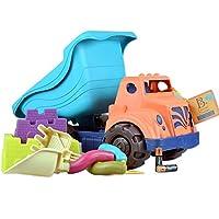 B.Toys 比乐 水泥搅拌车套装 海岸巡航车 夏日沙滩玩具 翻斗车 挖沙工具  婴幼儿童益智玩具 礼物 18个月+ BX1311Z