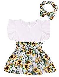 新生女婴服装小姐连衫裤上衣,花朵打底裤+可爱的头带套装