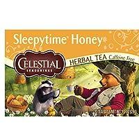Celestial Seasonings Herbal Tea, Sleepytime Honey, 20 Count (Pack of 6)