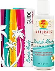 COS Naturals ANTI STRETCH MARK AND SCAR CREAM Natural Organic TREAT & PREVENT Body Moisturizer With Pe
