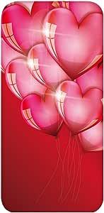 智能手机壳 透明 印刷 对应全部机型 cw-436top 套 心形气球 心形 气球 UV印刷 壳WN-PR464698 iPhone7 Plus 图案E