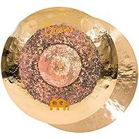 Meinl Cymbals Byzance 14 英寸双头帽,一对 — 土耳其制造 — 手工锤打 B20 青铜,2 年保修(B14DUH)