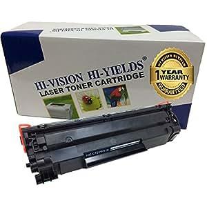 HI-VISION 兼容硒鼓替换装适用于 HP 79A [CF279A, 1k 打印页] 黑色 Laserjet Pro M12w, M12a, MFP M26nw, M26a(一包) 1 件