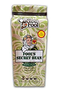 The Coffee Fool Fool's Secret Bean, Perk, 12 Ounce