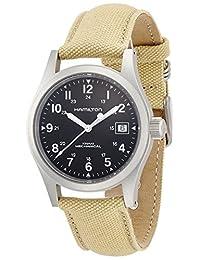 Hamilton 男士 H69419933 Khaki Field 黑色表盘手表