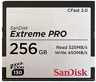 SanDisk 71931 256GB Extreme PRO CFast 2.0 存储卡(ARRI、Canon 和 BlackMagic Ca