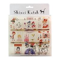 Seal-Do Shinzi Katoh 9卷盒装 贴纸套装 童话