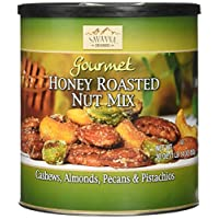 Savanna Orchards Gourmet Honey Roasted Nut Mix - Cashews, Almonds, Pecans and Pistachios (30 oz)