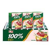 汇源 果汁100% 苹果汁200ml*24盒 2018年11月生产