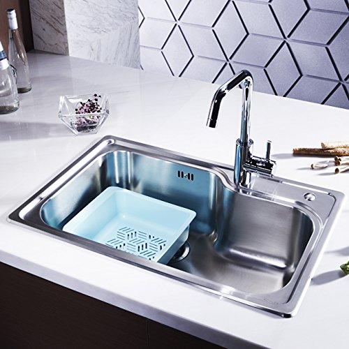 KOHLER 科勒 K-77160-2S-NA厨房水槽 + K-97274T-4-CP 可芙厨房龙头套装