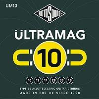 RotoSound 6 Ultramag UM10 合金电吉他弦,双手适用