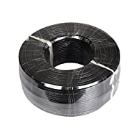 龙视安(loosafe) LS-DYX275 监控专用电源线 2*0.75 监控电源线 全铜150米/卷