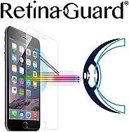 RetinaGuard 抗蓝光钢化玻璃屏幕保护膜 适用于 iPhone6S / 6 - SGS & Intertek 测试 - 阻挡过多的有害蓝光,减少眼部*和