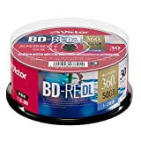 Victor Victor 录像用VBE260NP30SJ1 くり返し録画用 片面2層(50GB)