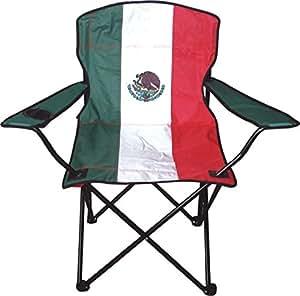 CARRY ON 国旗图案 fold-able 沙滩椅子,带额外的便携袋