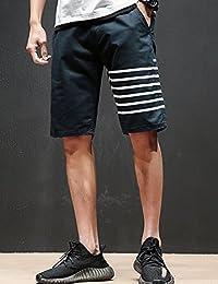 MPSMOVE 思慕夫 2018夏季男装时尚纯棉休闲五分裤男士短裤多色中裤男休闲裤子CY020【714】