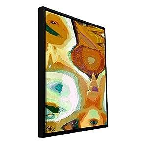 ArtWall Dean Uhlinger Boundaries Floater 镶框画廊包装图形油画艺术品 12x24 0uhl428a1224f