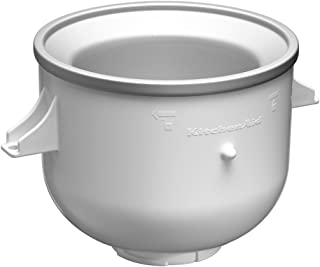 OVERSEAS USE ONLY KitchenAid 5KICA0WH Ice Cream Maker Attachment (FOR 220v ARTISAN ONLY - WILL NOT WORK IN USA)