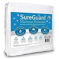 sureguard 床垫保护罩–防水–高级修身棉质毛圈棉织覆盖–10年质保