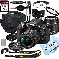 Nikon D5600 数码单反相机 18-55mm VR 镜头 + 32GB 卡、三脚架、外壳等(18 件套)