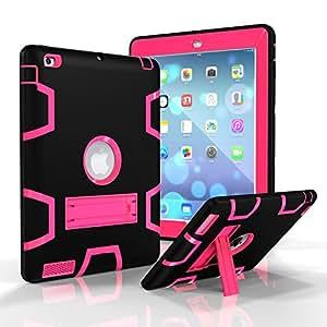 iPad 2/3/4 保护套机器人保护全身防震坚固的超薄硅胶保护套适用于 9.7 iPad 2/3 / 4 代