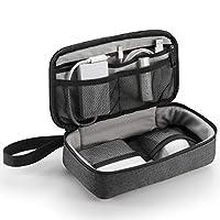Elecom宜丽客 旅行袋 小袋 零钱包 旅行 出差 收纳 收纳小物品 黑色 BMA-F01XBK