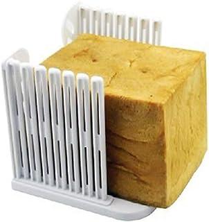 理想的折叠面包烤面包片切片器百吉饼片塑料夹层面包切片器适用于家庭