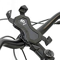 NC-17CONNECT 3d 通用支架 # 1/ 智能手机和手机支架适用于自行车/摩托车/手机支架适用于 iPhone , Galaxy/支架适用于 GPS/手机支架/headsetcaps 或车把装载/黑色
