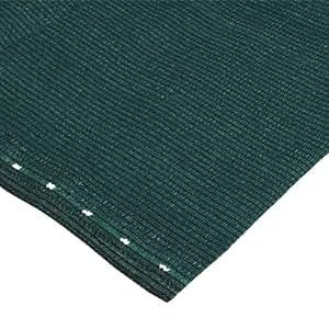 篱笆遮盖布 绿色 包括12米,紧固绳180 克 / 米 1.2 x 5 m