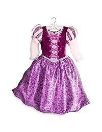 Disney Disney 儿童长发公主服 - 打结:系列紫色