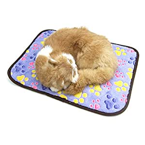 Alfie 宠物 Petoga Couture 出品 - Jamilia 双面睡觉和清凉垫 紫色 中