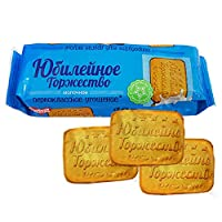 10袋 甜蜜农庄 俄罗斯进口 饼干 120g/袋 休闲零食 (奶香庆典饼干)