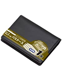 Raymay 藤井 卡包 带卡套 单面 合成皮革 黑 GLP9003B