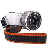 Elvam Camera Strap Nikon / Canon / Sony / Olympus / Samsung / Pentax DSLR / SLR Camera Neck Shoulder Strap for Men and Women EL-07