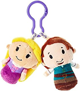 Hallmark Tangled Rapunzel and Flynn Rider itty bittys Clippys 填充动物