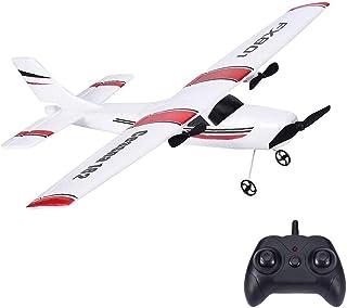 遥控飞机,2.4Ghz 2通道遥控飞机准备飞行,DIY 遥控飞机玩具耐用 EPP 泡沫内置 3 轴陀螺系统,易于飞行,适合初学者、儿童和成人