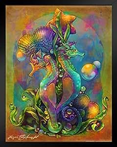 Renee Biertempfel Fantasy Art 创作的海报 裱框海报 14x20 inches 290135