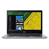 Acer Swift 3 35.56 英寸笔记本电脑 - (银色)(Intel i3-7100U 处理器,8 GB 内存,128 GB SDD,Windows 10 家)