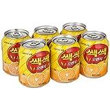 Lotte乐天粒粒橙水果饮料238ml*6(韩国进口)