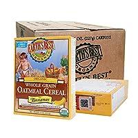 Earth's Best 有机燕麦米粉-香蕉味227g *12盒 (产地美国或德国,随机发货)[跨境自营]包税【临期商品,低价促销,介意者慎购】