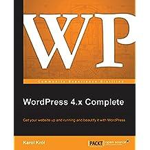 WordPress 4.x Complete (English Edition)