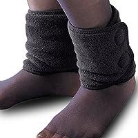 BSTD 百傲鲨 护脚腕护脚踝保暖护踝袜套防寒脚脖套 男女兼用加厚加绒款 日本原装进口柔软舒适 黑色(亚马逊自营商品, 由供应商配送)