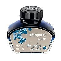 Pelikan 百利金 水性染料不堵笔墨水4001 蓝黑色 62.5ml