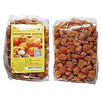 龙眼干果肉 (500克*1袋) 泰国进口零食 进口食品 果干