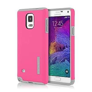 Samsung Galaxy Note 4 Case, Incipio [Shock Absorbing] DualPro Case for Samsung Galaxy Note 4-Pink / Smoke