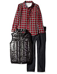 Calvin Klein 男童 3 件套背心套装