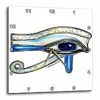 badhead gadroon sigils 和设计–蛋白石 EYE OF RA 埃及长绒 pagan 艺术–挂钟