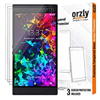 Orzly 玻璃屏幕保护膜 Razer 2 智能手机SCRGLTWINFLEXICASEORZLY  TRANSPARENT Tempered Glass Screen Protectors for Razer Phone 2