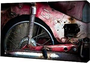 """PrintArt """"泰国摩托车""""由 Erin Berzel 创作画廊装裱艺术微喷油画艺术印刷品,60.96 cm x 38.10 cm"""